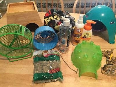 Lot Of Small Animal Supplies Great Deal!