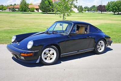 1985 911 -- 1985 Porsche 911  121,200 Miles Black  Flat 6 Cylinder Engine 3.2L/193 Manual
