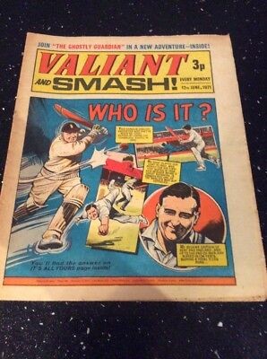 Valiant And TV21 Weekly British Comic 12th  June 1971