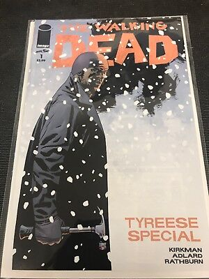 The Walking Dead # 1 Tyreese Special Issue Bagged & Boarded High Grade