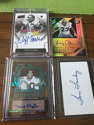 Dallas Cowboys Lot , NFL , Hall Of fame , Super Bowl , Panini , Football