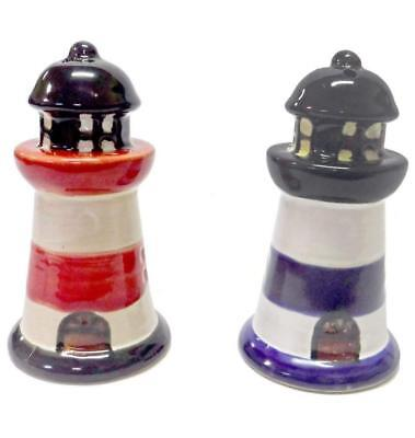 Beachcombers SS-BCS-03195 Lighthouse Salt & Pepper Seasonal Celebration...