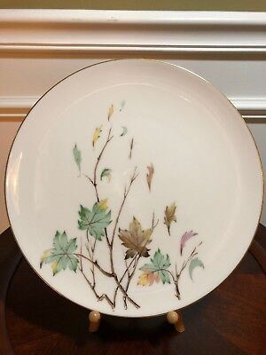 "Vintage Lenox Discontinued ""Westwind"" Pattern X407 10.5"" Dinner Plate Gold Trim"