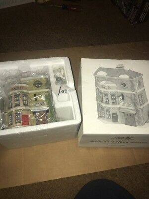 Dept 56 Dickens Village Kings Road Post Office New Holiday Christmas Piece