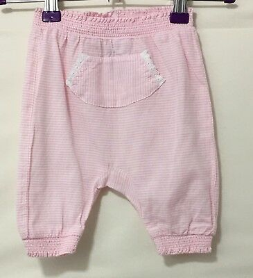 27054f2bd BABY GIRLS MAUVE Trousers Age 0-3 Months - EUR 1