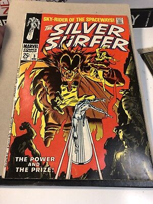 SILVER SURFER #3 (Vol. 1)  - First appearance of MEPHISTO! Phase 4 Avengers