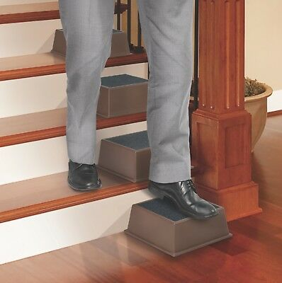 Wellness Stair Assist Half Steps Portable Slip Resistant Step Stones NEW