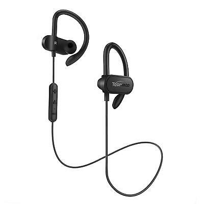 Topmate Bluetooth Earphones IPX5 Waterproof Stereo Heavy Bass Up to 8 Hrs Play++