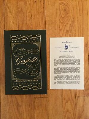 The Easton Press - Garfield A Biography By Allan Peskin Leather Bound Like New