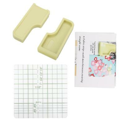 3Pcs Green 6-In-1 Stick and Stitch Guide Sewing Machine Accessories Supply New