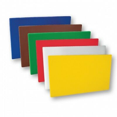 Cutting / Chopping Board Set Polyethylene HACCP Colour Coded 380 x 510 x 13mm