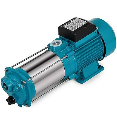 1300W Centrifugal Booster Water Jet Pump 6000 L/H 230V Stainless Steel Garden