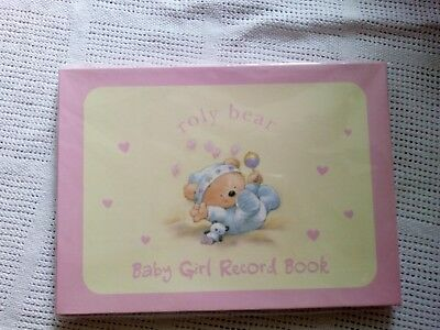 Baby record book girl