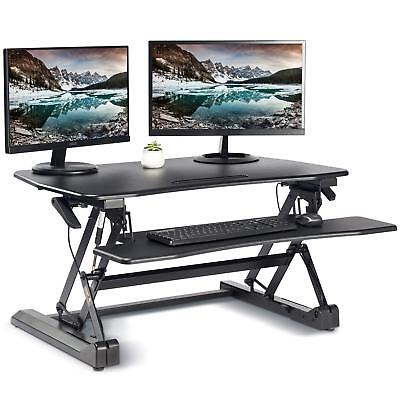 Standing Desk Converter with Height Adjustable – FEZIBO Sit to Stand up Riser