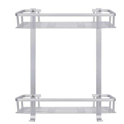 [Upgraded] Bathroom Shower Shelf, Metplus No Drilling Adhesive Never Rust Space