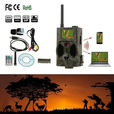 HC-300m 12MP GSM GPRS MMS Contrôle Infrarouge Scoutisme Trail Chasse Caméra