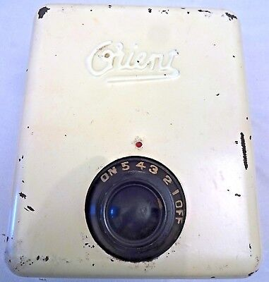 Fan Regulator Vintage Ceiling Fan Speed Controller Orient India Collectibles