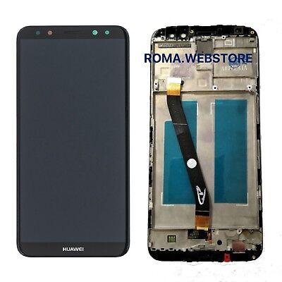 DISPLAY LCD Touch Frame completo HUAWEI MATE 10 LITE RNE-L21 L01 NERO SCHERMO