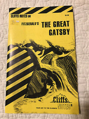 The Great Gatsby Cliff Notes