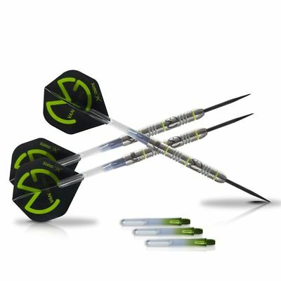 XQmax Darts MvG Green Demolisher Set Freccette Tungsteno 70% 23g QD2200020