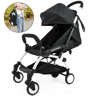Outdoor Mini Baby Stroller Travel System Small Pushchair Carriage One-key Fold