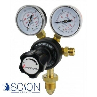 Single Stage 2 Gauge Nitrogen Regulator 10 Bar