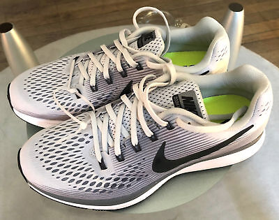 WOMEN'S NIKE AIR Zoom Pegasus 34 WhitePure Platinum Size