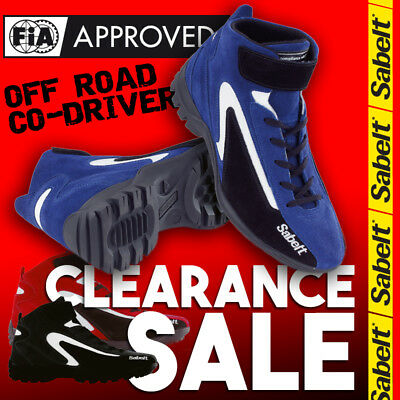 FIA Sabelt New Mecha MS-300 OFFROAD Shoes Blue Black Red Boots Mechanics Sale