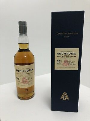 Auchroisk 20 Years  Diageo Special Releases 2010   0,7l / 58,1%