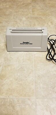 Premier Instant Letter Folder 3 Sheet Maximum Tested Works Great!! model 1400