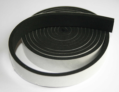 Self Adhesive Neoprene/Epdm  Sponge/Foam Rubber Strip Various Sizes & Thickness