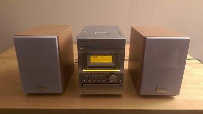 Mini SONY HCD-M373 Hi-Fi System - MiniDisc/Tape/CD/FM/AM - Net MD