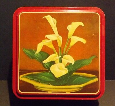 Vintage Tin Container (110516)