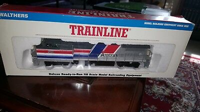 WALTHERS TRAINLINE HO scale AMTRAK #510 GE DASH 8-40BW