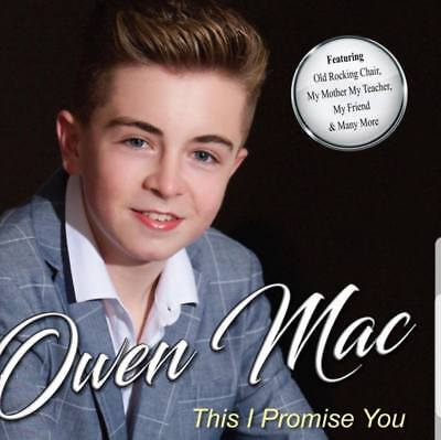 OWEN MAC THIS I PROMISE YOU CD (New Release October 19th 2018)