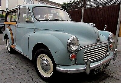 Morris Minor Traveler 1969 4 prev owners fsh from new lots of money invested
