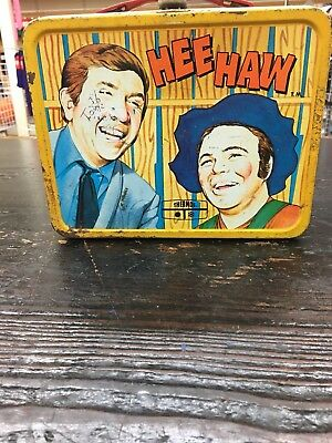 Vintage Hee Haw Lunchbox With Thermos