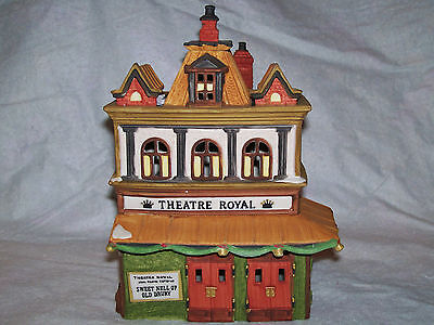 DEPT 56 DICKENS VILLAGE *THEATRE ROYAL* 55840 RETIRED Heritage Village in Box