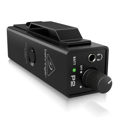 Behringer Powerplay P2 Personal In-Ear Monitor Amplifier IEM Band Studio