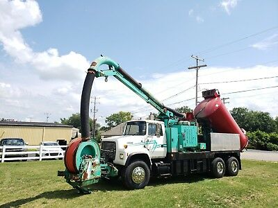 Ford L8000 Ta Vacuum Truck Sewer Jetter Combo Rodder Septic Pump Truck Video