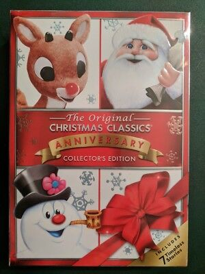 the original christmas classics dvd free shipping sealed brand new coll