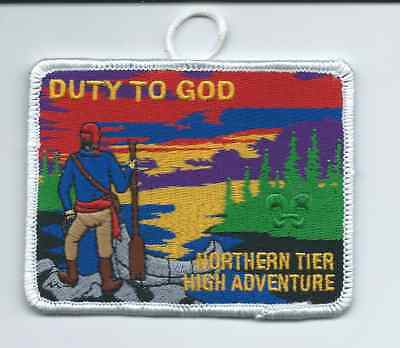 Boy Scout Duty of God Northern Tier Patch