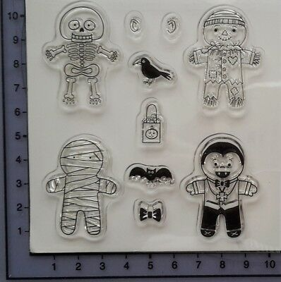Clear Stamp - Cookie Cutter Halloween - Stempelset