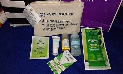 Lot Beaute : Trousse Yves Rocher + Eau Micellaire Gel Creme  Shampoing  Neuf