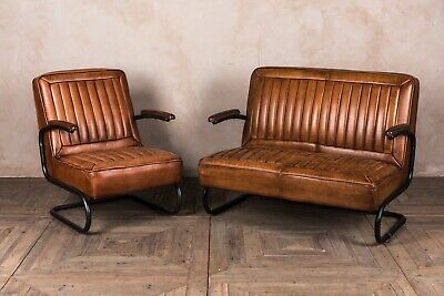 Leather Seating Range Ribbed Leather Seating Leather Armchair And Sofa