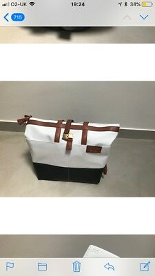 Quinny Moodd Rachel Zoe Limited Edition Leather Bag Changing Nappy Diaper