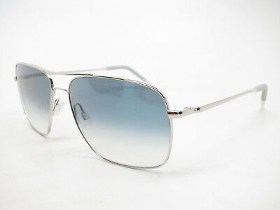 327a3070eab Oliver Peoples OV 1150S 50363F Silver w Chrome Sapphire Photo VFX Sunglasses