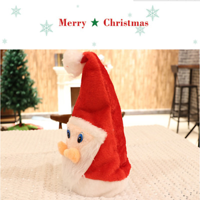 088bed640127c Cute Santa Claus Hat Christmas Cap Xmas Party Decor Supplies Gift Kids  Adult HS