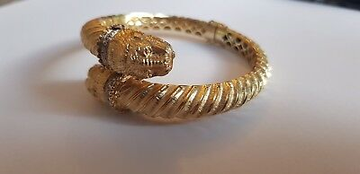Zolotas Greece 18k Gold Diamond Chimera Bracelet