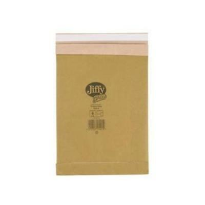 Jiffy Padded Bag Size 4 225x343mm Gold [Pack of 100]